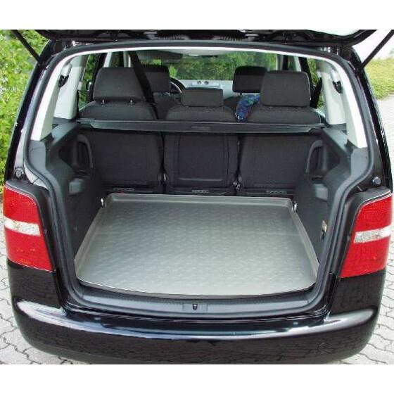 kofferraummatte touran ii 2010 gummi carboxmatte teppich. Black Bedroom Furniture Sets. Home Design Ideas