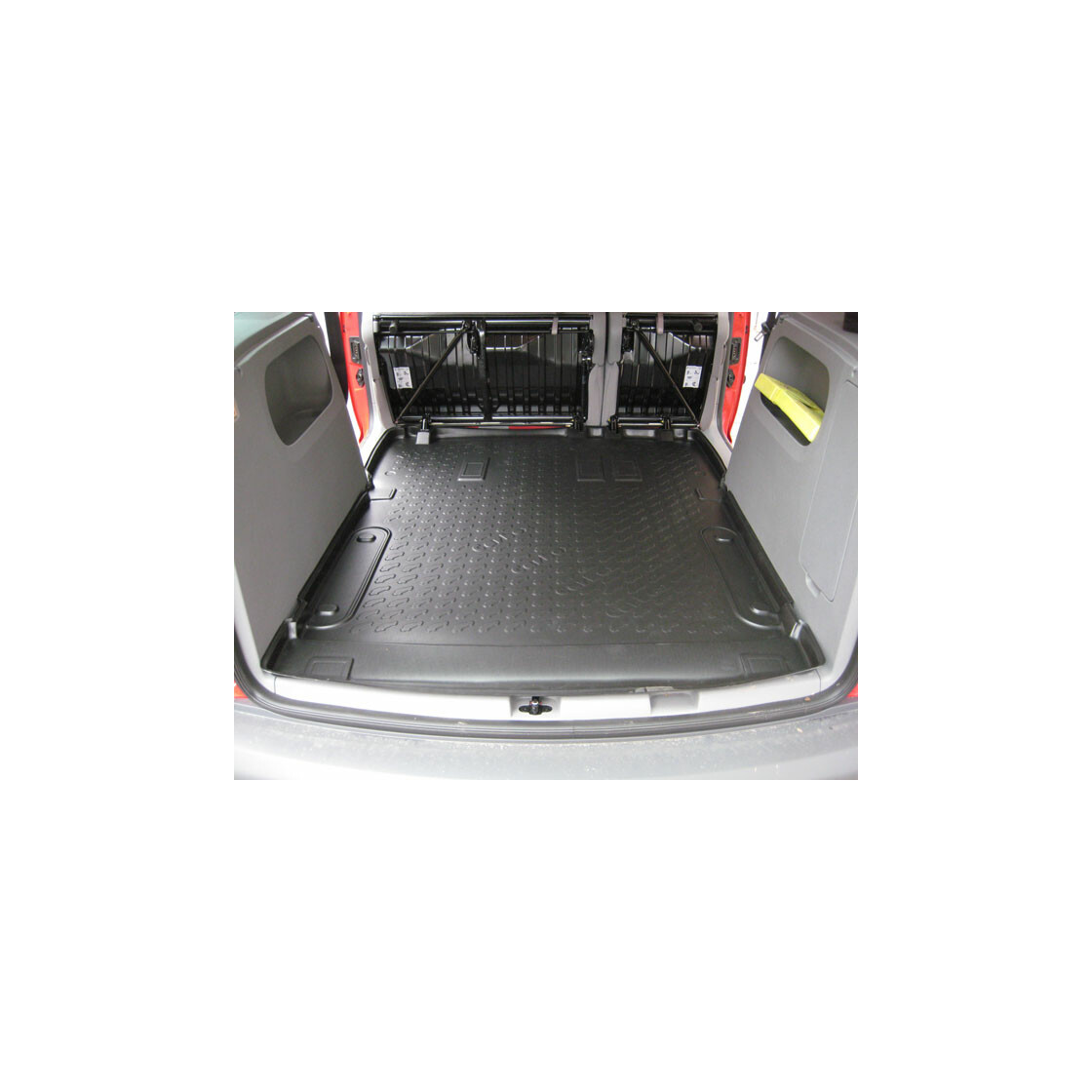 kofferraummatte cross caddy 2013 carbox kofferraumwanne. Black Bedroom Furniture Sets. Home Design Ideas