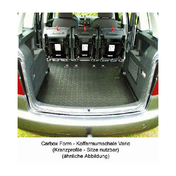kofferraummatte seat alhambra wgr kofferraumwanne carbox. Black Bedroom Furniture Sets. Home Design Ideas