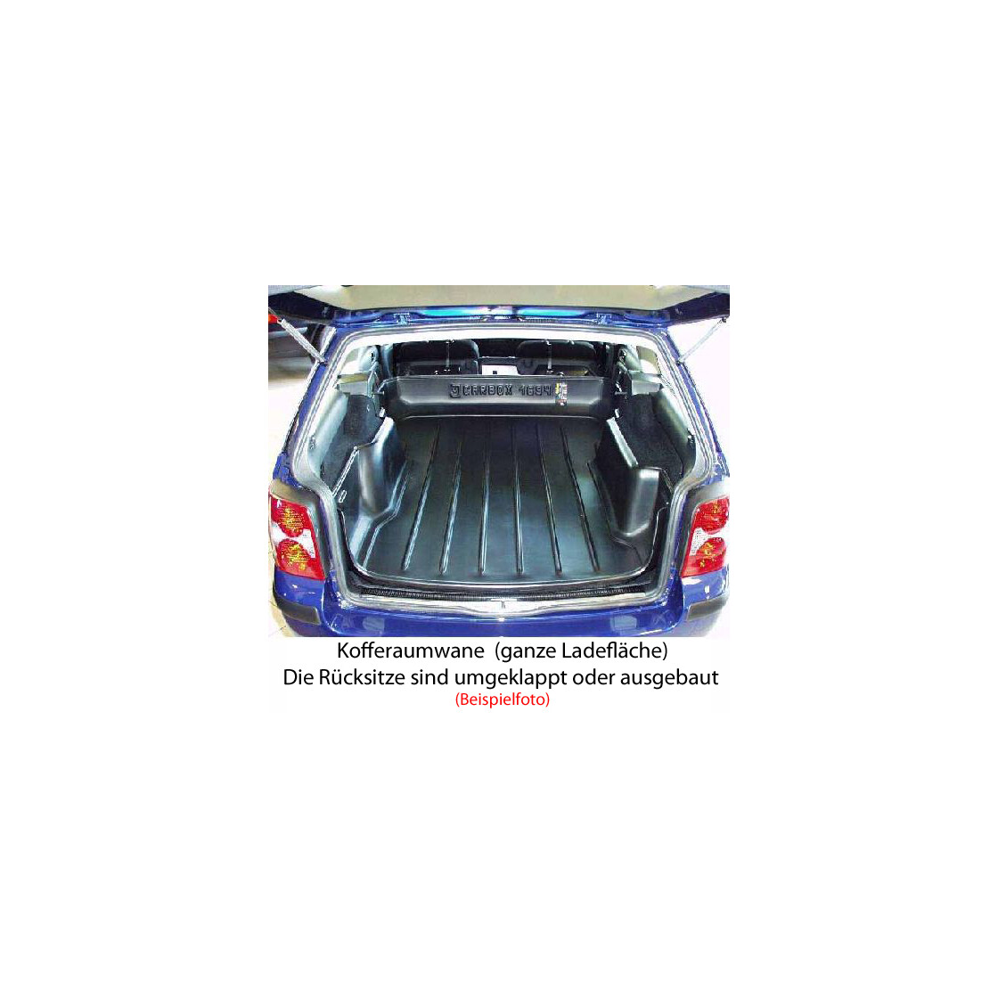 kofferraumwanne carbox audi a4 avant 8e b6 b7. Black Bedroom Furniture Sets. Home Design Ideas