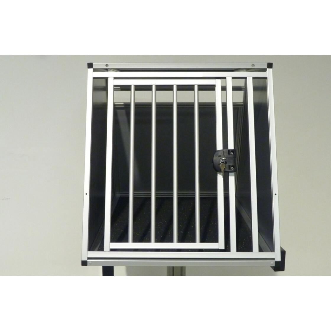 hundebox aluminium fiat 500x mit zus tzlichen gep ckraumboden trans 387 50. Black Bedroom Furniture Sets. Home Design Ideas